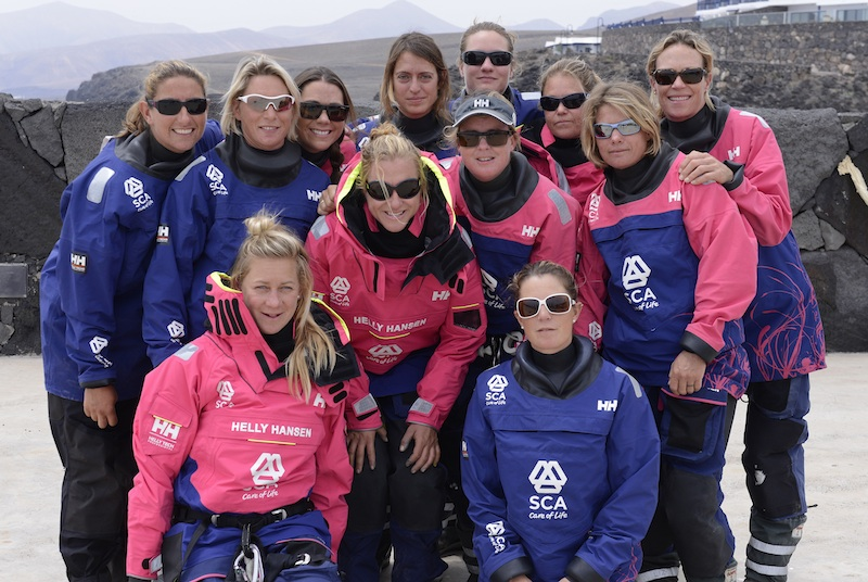 Team SCA April 2014 Puerto Calero, Lanzarote Photo Rick Tomlinson